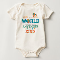 In World Anything Be Kind Puzzle Autism Awareness Baby Bodysuit