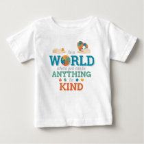 In World Anything Be Kind Puzzle Autism Awareness Baby T-Shirt
