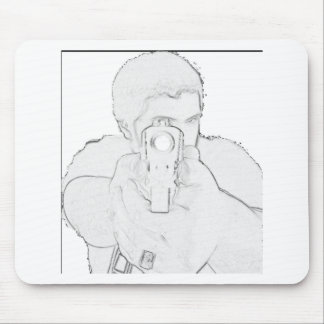 """""""In Your Face"""" Muzzle Products Mouse Pad"""