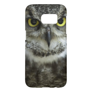In Your Face Owl Samsung Galaxy S7 Case