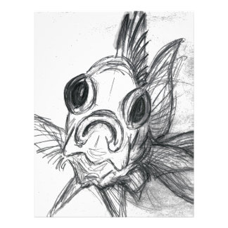 In-Your-Face Squirrelfish Letterhead