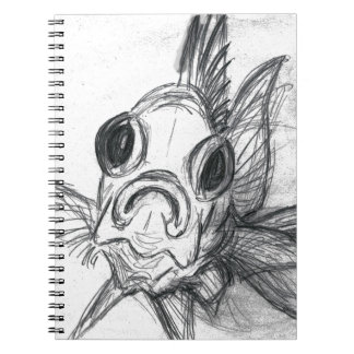 In-Your-Face Squirrelfish Notebook