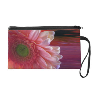 In your face wristlet purse