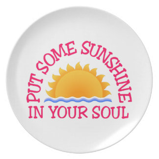 In Your Soul Dinner Plate
