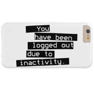 Inactivity Barely There iPhone 6 Plus Case