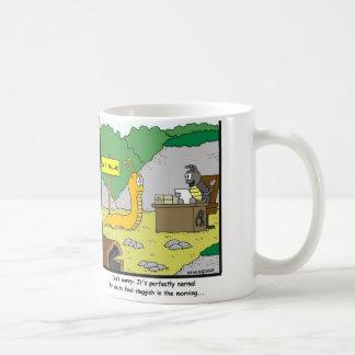 Inactivo por la mañana taza