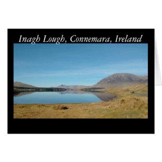 Inagh Lough, Connemara Card