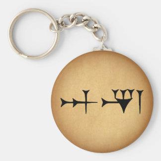 Inanna Cuneiform Keychain
