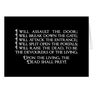 Inanna/Ishtar Entering Underworld Quote Card