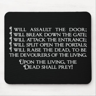 Inanna/Ishtar Entering Underworld Quote Mouse Pad