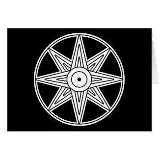Inanna Star Symbol Card
