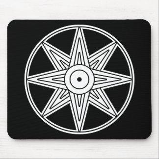 Inanna Star Symbol Mouse Pad