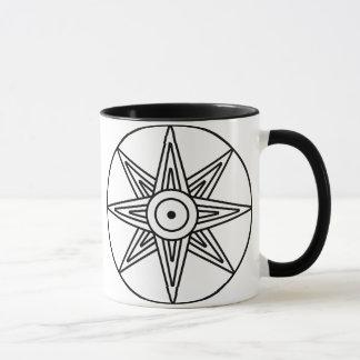 Inanna Star Symbol Mug