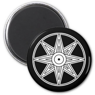 Inanna Star Symbol Refrigerator Magnets