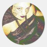 Inanna's Persuasion Round Stickers