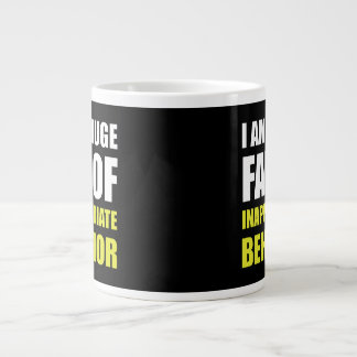 Inappropriate Behavior Large Coffee Mug