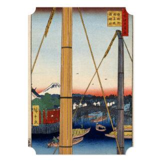 Inari bridge and Minato shrine, Teppōzu Card