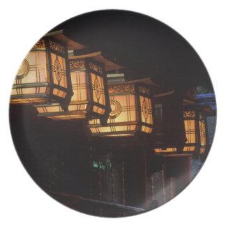 Inari Grand Shrine, Fushimi, Kyoto, Japan Melamine Plate