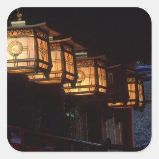 Inari Grand Shrine, Fushimi, Kyoto, Japan Square Sticker