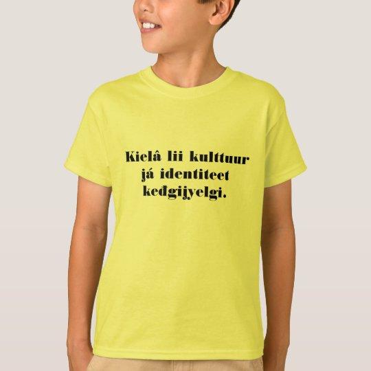 Inari Sami Kielâ keđgijyelgi T-Shirt