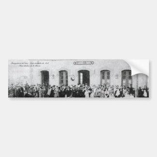 Inauguració of the train - Sant Andreu of the Boat Bumper Stickers