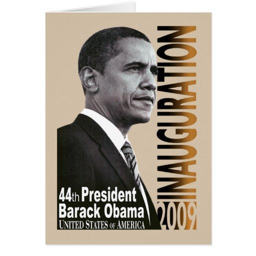 Inauguración 2009 (beige) tarjeta