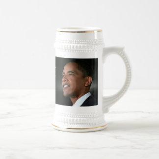 Inauguración 2009 de Obama Stein Tazas De Café