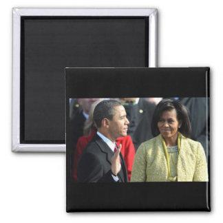 Inauguración 2009 de presidente Barack Obama Imanes De Nevera