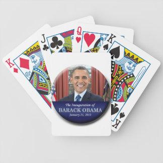 Inauguración 2013 de Barack Obama Baraja