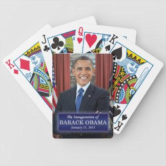 Inauguración 2013 de Barack Obama Baraja Cartas De Poker