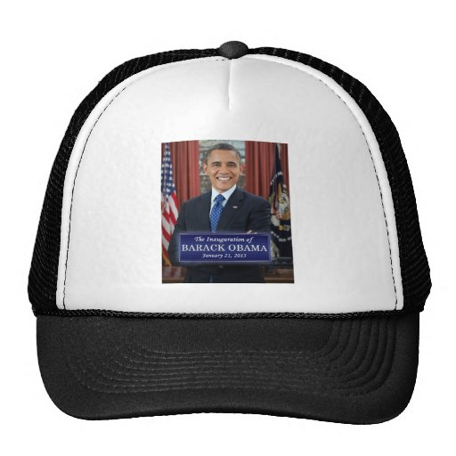 Inauguración 2013 de Barack Obama Gorros Bordados
