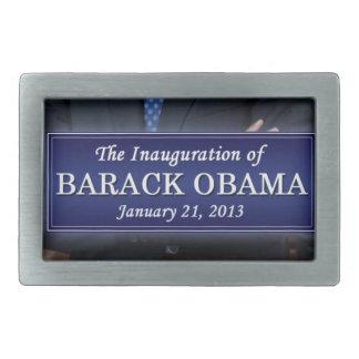 Inauguración 2013 de Barack Obama Hebilla Cinturon Rectangular