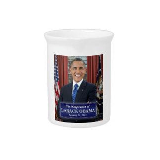 Inauguración 2013 de Barack Obama Jarras Para Bebida