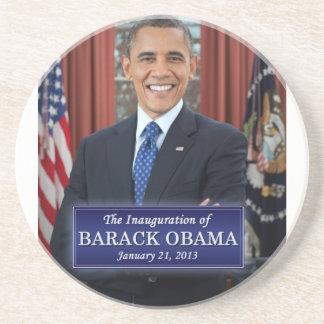 Inauguración 2013 de Barack Obama Posavasos Cerveza