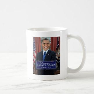 Inauguración 2013 de Barack Obama Taza Básica Blanca