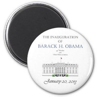 Inauguración 2013 de Obama Imán Redondo 5 Cm