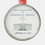 Inauguración 2013 de Obama Ornamento De Navidad