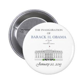Inauguración 2013 de Obama Pin Redondo De 2 Pulgadas