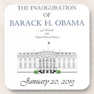 Inauguración 2013 de Obama Posavasos De Bebidas