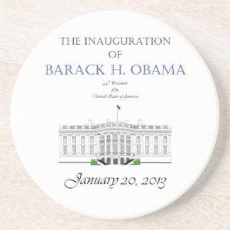 Inauguración 2013 de Obama Posavasos Cerveza