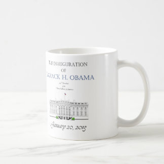 Inauguración 2013 de Obama Taza De Café