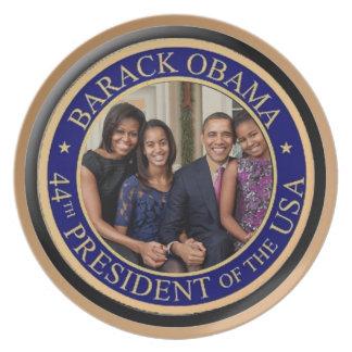Inauguración 2013 de presidente Barack Obama Platos