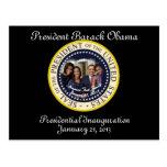 Inauguración 2013 de PRESIDENTE OBAMA FAMILY Tarjetas Postales