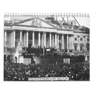 Inauguración Abraham Lincoln del 4 de marzo de Calendario