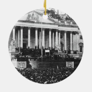 Inauguración Abraham Lincoln del 4 de marzo de Ornamentos Para Reyes Magos