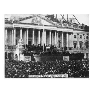 Inauguración Abraham Lincoln del 4 de marzo de Tarjeta Postal