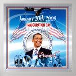 Inauguración de Barack Obama Posters