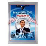 Inauguración de Barack Obama Tarjetas