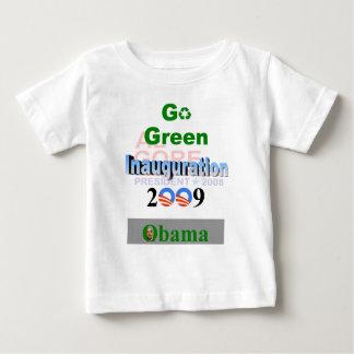 Inauguración de Obama, Gore reciclado '08 Playera De Bebé