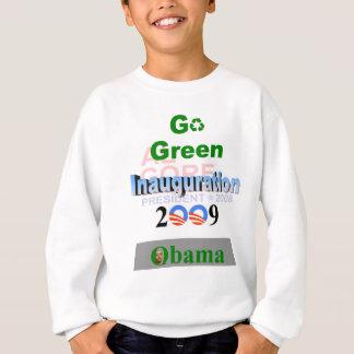 Inauguración de Obama, Gore reciclado '08 Sudadera